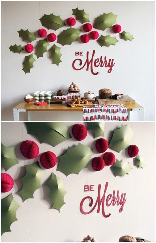 30 Wonderful Easy To Create Christmas Home Decorations