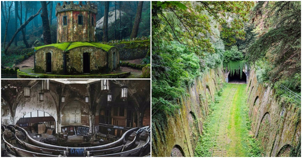 21 Abandoned Places In The World Amazing