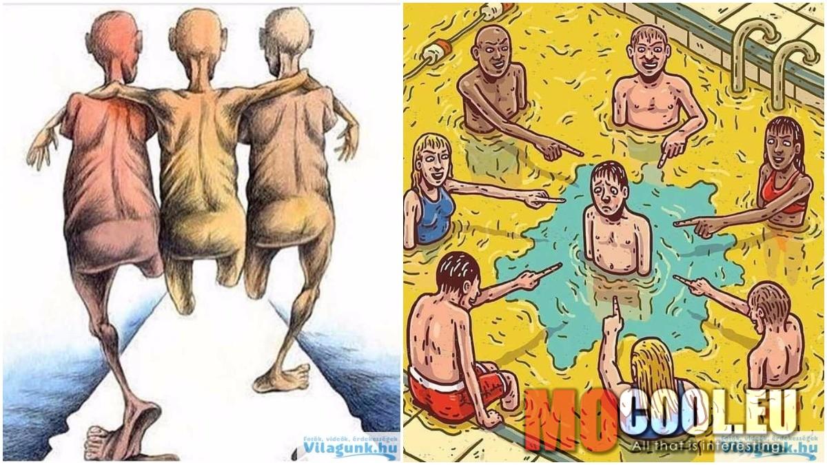 12 illusztráció ami megmutatja, hogyan bánnak egymással az emberek manapság!