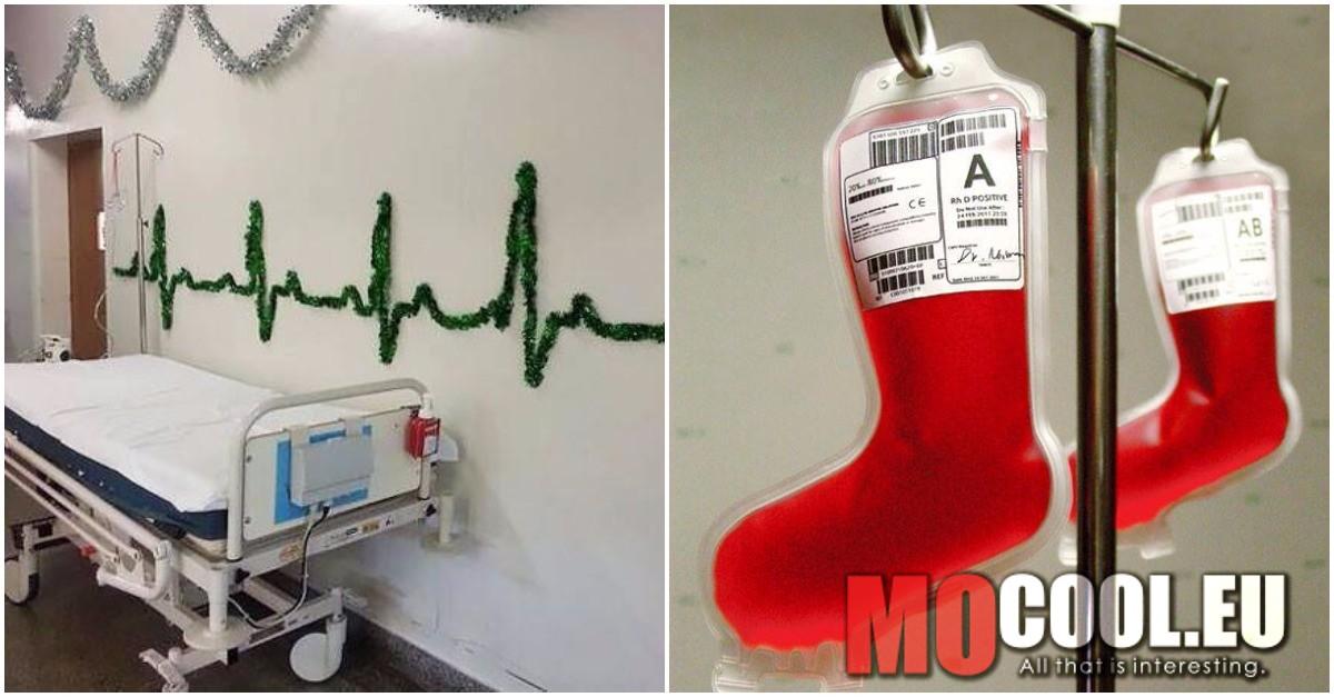 20 lélegzetelállító kórházi, karácsonyi dekoráció, amitől mindenkinek szebb lesz az ünnep.
