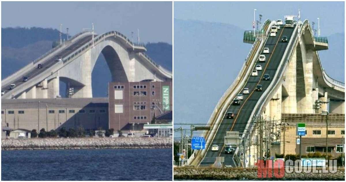 Őrületes tervezés – A Eshima Ohashi híd olyan, mint egy hullámvasút