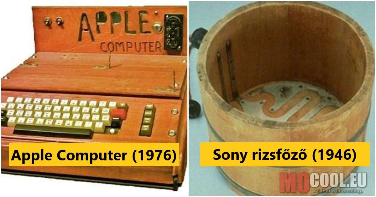 Hihetetlen kezdetek – Ilyenek voltak a híres vállalatok első termékei