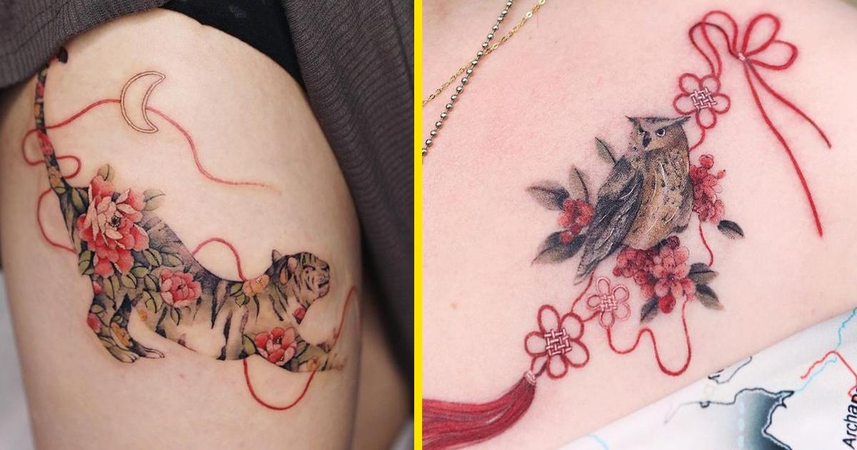30 különleges tetoválás egy dél-koreai művésztől, akinek a munkáját az egész világon elismerték