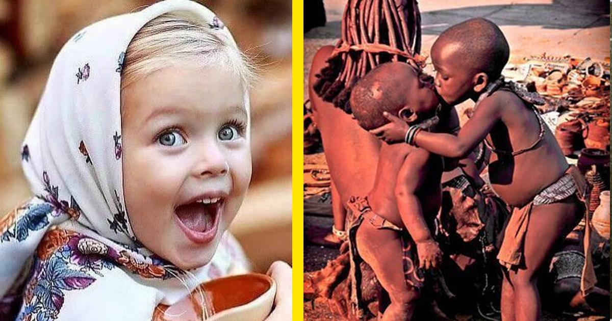 20 fotó, ami bizonyítja, hogy a gyerekek a világ minden táján ugyanannyira tündériek