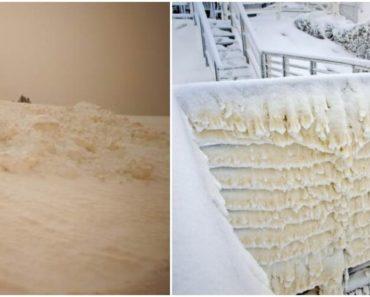Sárga hó hullott a Tátrában – Mi okozza ezt a jelenséget?