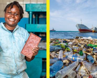 Egy kenyai vállalat fantasztikus ötlettel állt elő, hogy miként fékezzük meg a műanyagszennyezést a Földön