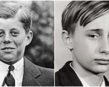 23 kép, ami bemutatja modern történelmünk leghatalmasabb embereit mikor még fiatalok voltak
