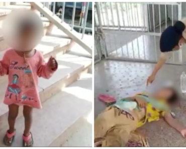 Kétéves kislány mentette meg anyja életét a vasútállomáson – A rendőrség szerint igazi hős